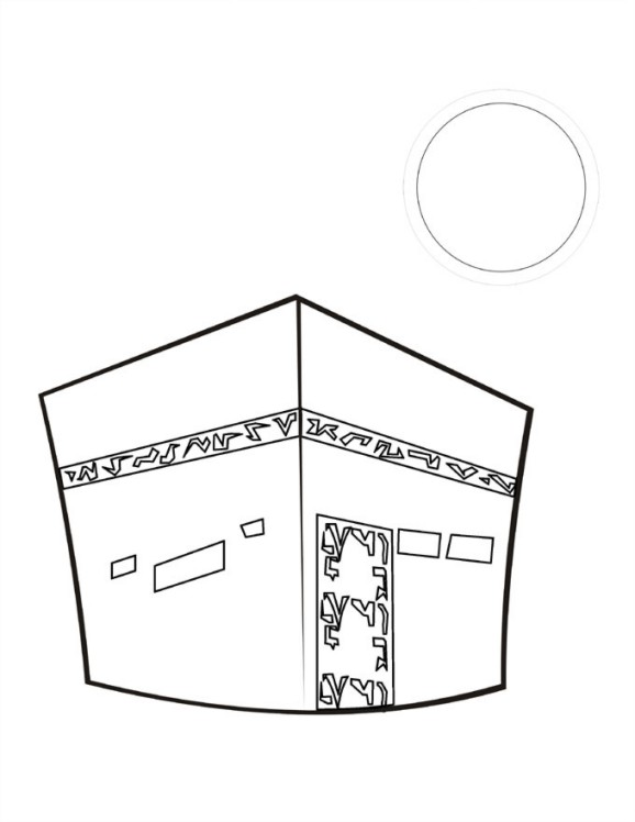 hajj coloring pages - photo #10