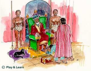 The Quraysh's presented the king with the gifts and.... - Image © Play & Learn